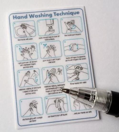 Handwash Technique Poster M295