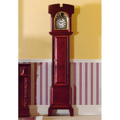 Non-Working Grandfather Clock in Mahogany 2081