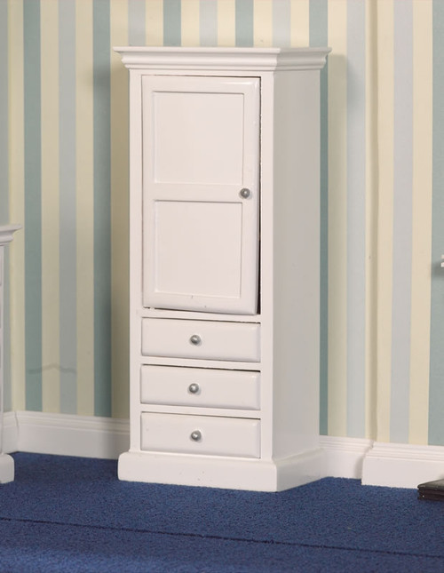 White Cupboard and Drawers 2758