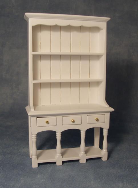 White Three Drawer Dresser DF1512