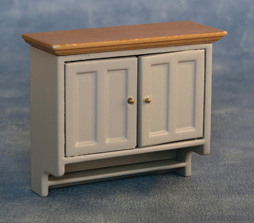 Shaker-Style Wall Cabinet Grey/Pine 9339