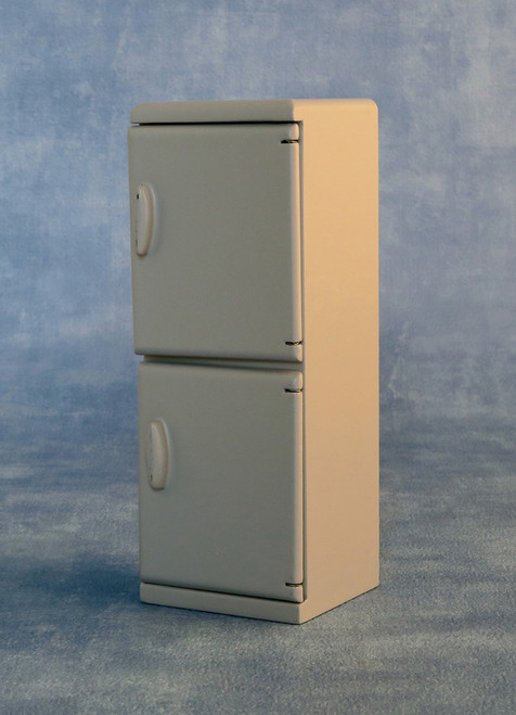 Grey Fridge Freezer 9345