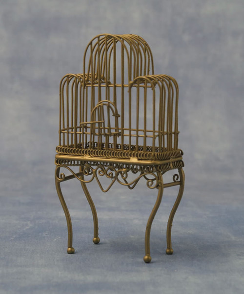 Large Brass Birdcage DF562