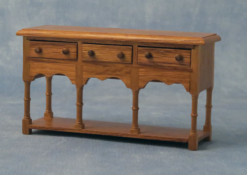 Oak Sideboard with 3 Drawers DF76167