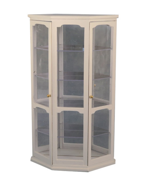 Display Case, Cabinet in White DF77600