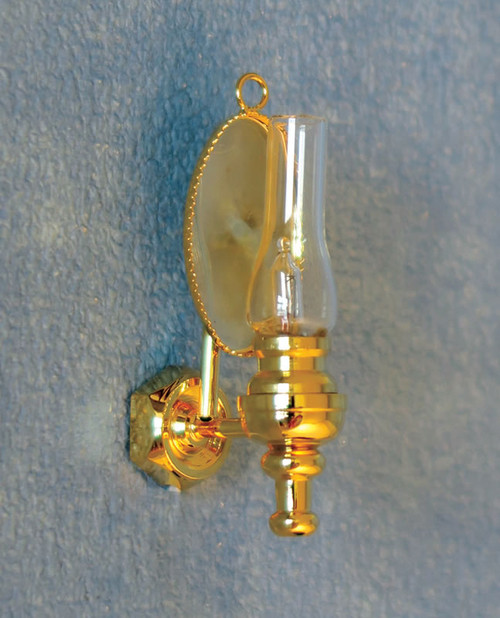 Mirrored Wall Oil Lamp DE279