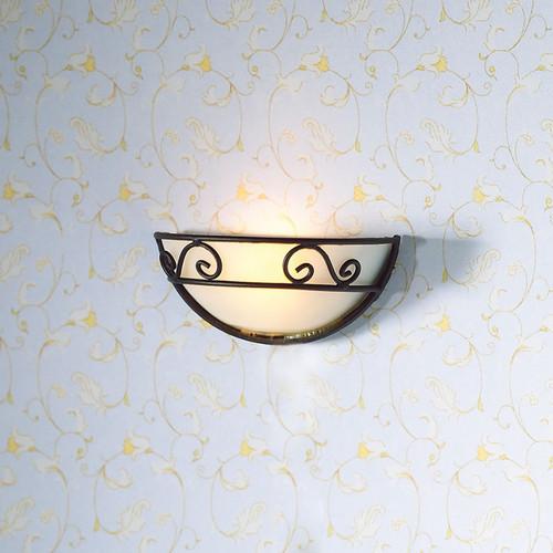 Decorative Half Circle Wall Light 2782