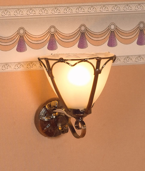 'Art Nouveau' Wall Light 2887