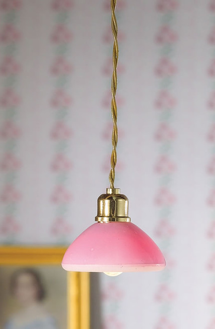 Pink Dome Ceiling Light 5178