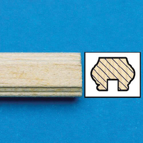 Unvarnished Lightwood Handrail, 7024