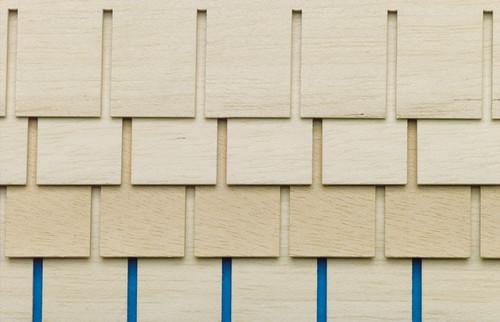Roof Tile Strips, 4 pcs 7037