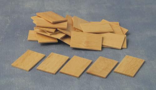 Roof Tiles, 100 Pieces DIY95653