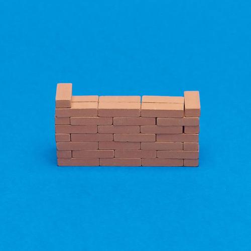 Individual Clay Bricks, 50 Pieces 9646