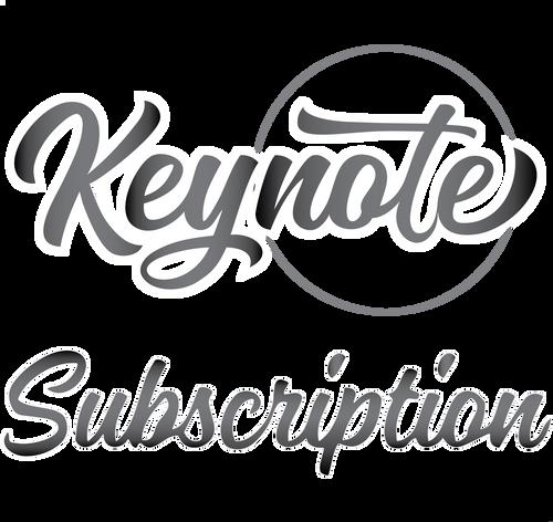 Subscription - Keynote