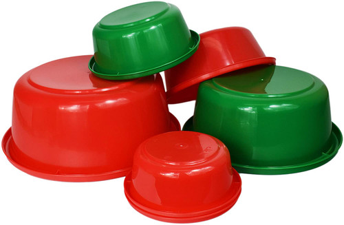 Sets of Six Nesting Mixing Bowls - Great for Holiday Cooking and Serving!