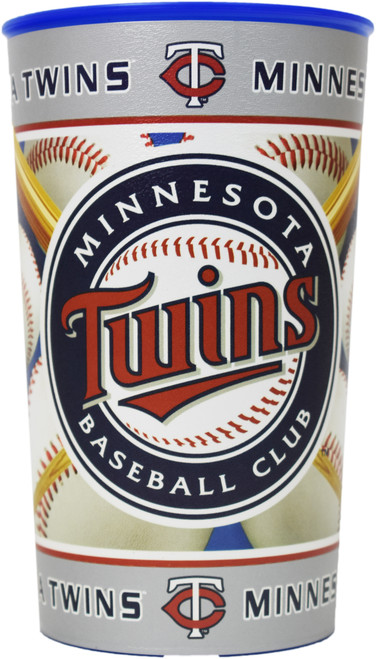 Set of Minnesota Twins 20oz Cups - BPA Free - Dishwasher Safe - Made in USA- Represent Your Team in Style with These Top Quality Cups