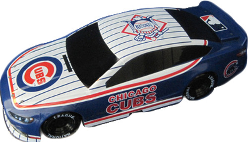 Chicago Cubs 1:18 Scale Toy car - Features Real Moving Wheels - Stock Car