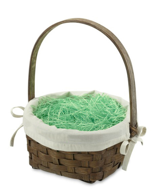 Set of Plastic Easter Grass Basket Fillers - 4 Colors (Green, Pink, Yellow, and Mixed)