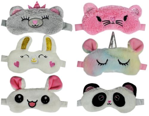 Set of Furry Friends Sleep Masks