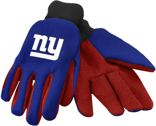 Forever Collectibles 74275 NFL New York Giants Colored Palm Glove