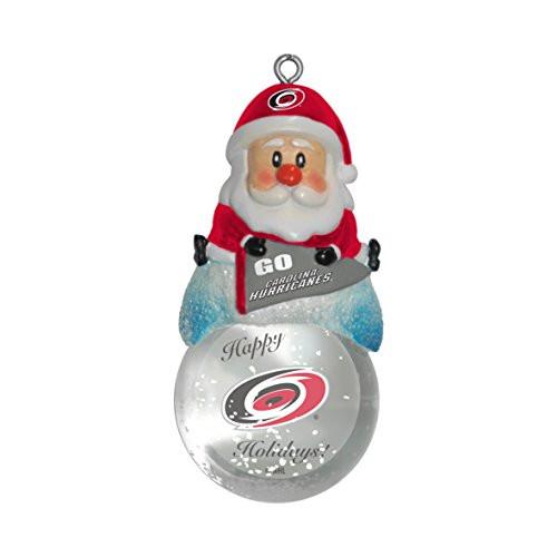 NHL Carolina Hurricanes Snow Globe Ornament