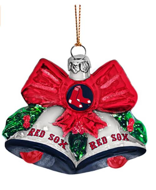 MLB Detroit Tigers Glitter Bells Ornament