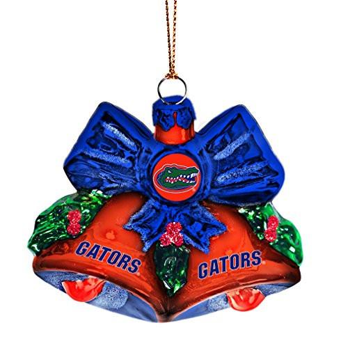 NCAA Florida Gators Glitter Bells Ornament