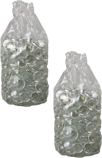5 Pounds of Exotic Aquarium and Vase Gems - Perfect For Aquariums, Vase Fillers, Table Scatter, Scrapbooking and Much More!