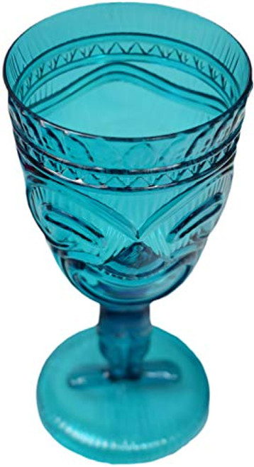 Set of Stemmed Tiki Cups! 11.8oz Stylish Cups Great for Parties, Luaus, Party Favors, and Bars!!
