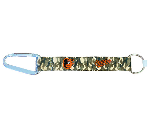 MLB Baltimore Orioles Lanyard Keychain - Camouflage - One Size