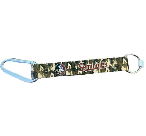 Florida State Seminoles Lanyard Keychain - Camouflage - One Size