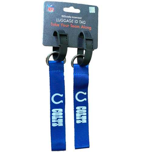 NFL Team Indianapolis Colts Luggage ID Tags - Take Your Team Along