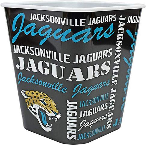 Jacksonville Jaguars 3 Liter Reusable Plastic Snack Bucket