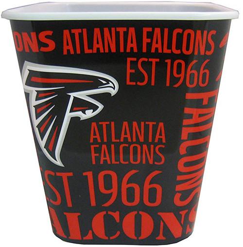 Atlanta Falcons 3 Liter Reusable Plastic Snack Bucket