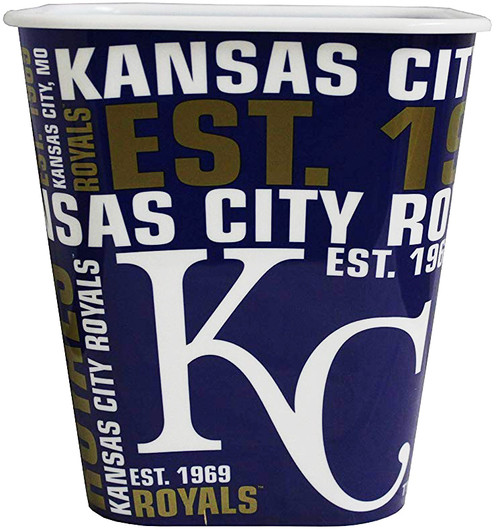 Kansas City Royals 3 Liter Reusable Plastic Snack Bucket
