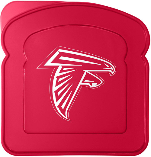 NFL Atlanta Falcons Plastic Sandwich Container Container