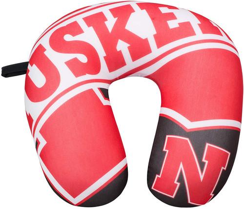"Nebraska Cornhuskers Impact Neck Pillow - NCAA - 13""x12"""