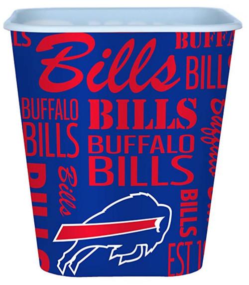 Buffalo Bills 3 Liter Reusable Plastic Snack Bucket