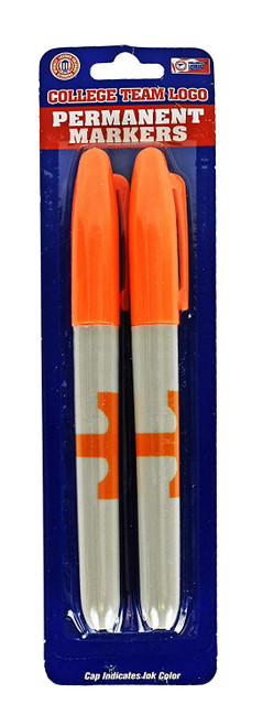 """Tennessee Volunteers NCAA Themed Permanent Markers! - Cap Indicates Color - 5.5"""""""