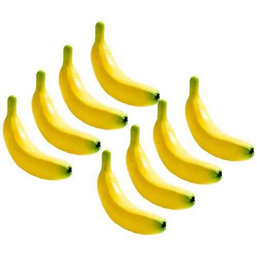 Artificial Bananas for Decoration - Set of 8