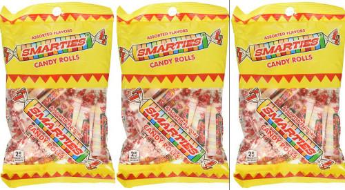 Smarties Original: 5.5 oz (155 g) Bag (3 Pack)