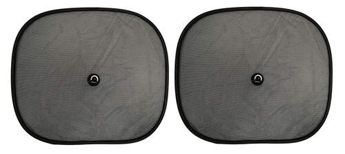 "Set of 2 Car Side Window 17.32"" x 14.17"" Mesh Sun Shade"