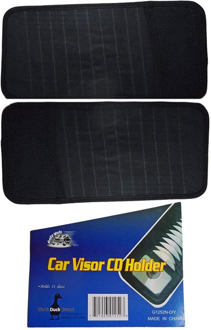 Vehicle Sun Visor  CD or DVD Holder - 2 Pack