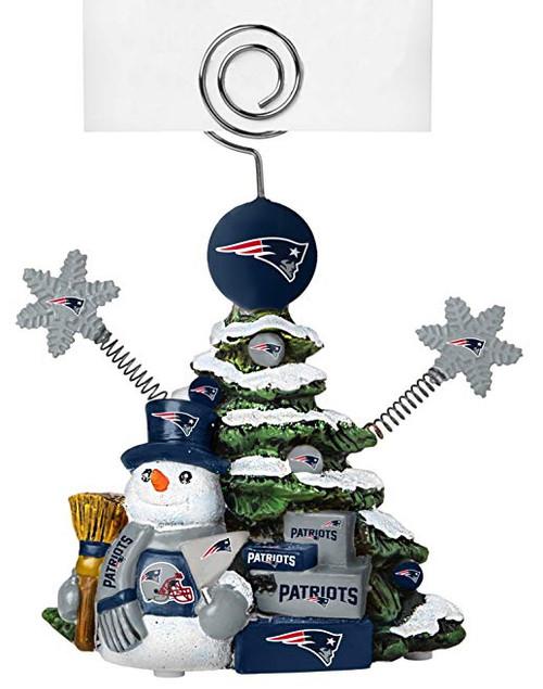 New England Patriots NFL Tree Photo Holder