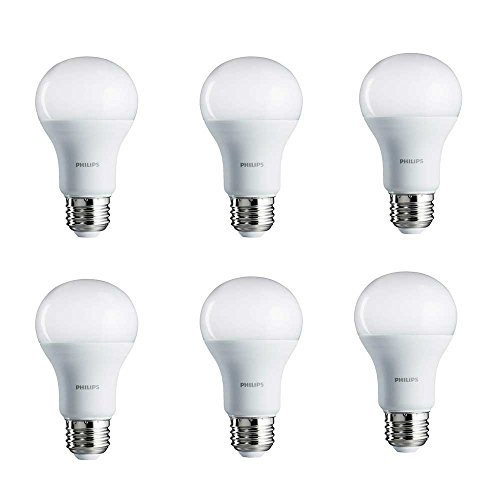 Set of 6 LED A21/E26 Non-dimmable General Purpose Bulbs