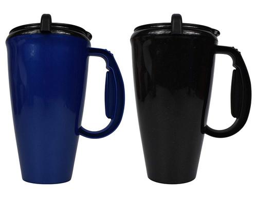 Set of 2-16Oz Acrylic Insulated Travel Mugs!