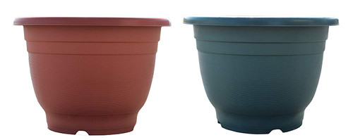 """Round Terra Cotta Planter/Pot! Perfect for Both Indoor and Outdoor Plants! - Choose your Color - 17""""x12h"""""""