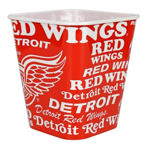 Detroit Red Wings 3 Liter Reusable Plastic Snack Bucket