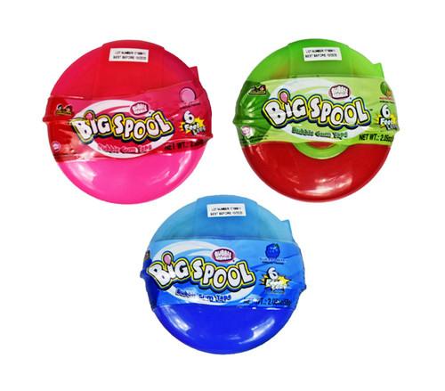 Set of 3 Bubble Mania Big Spool Bubble Gum Tapes! 6ft per roll!