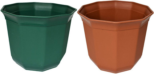 Set of Biodegradable Bamboo Planters! Decagon Planters! Perfect for Easy Gardening!Set of 2 Biodegradable Bamboo Planters! Decagon Planters! Perfect for Easy Gardening!